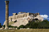 View to the Akropolis of Athens — Stock Photo