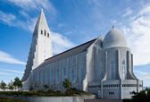 Reykjaviks Hallgrimskirkja — Stock Photo