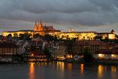 View to the Prague Castle — Zdjęcie stockowe