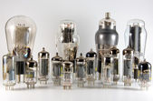 Vacuum Tube Collection — Stock Photo