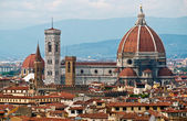 Santa Maria Del Fiore in Florence — Stock Photo
