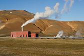 Powerplant geotérmica — Foto Stock