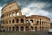 The Colosseum at a stormy day — Stock Photo
