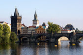 View at the historic center of Prague — Stock Photo