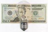 Energy expenses — Stock Photo
