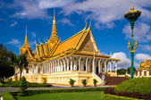 The Royal Palace in Phnom Penh — Stock Photo