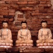 Buddha statues - Stock Photo