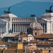 Il Monumento Vittorio Emanuele II - Stock Photo