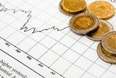 Money and stock-exchange — Stock Photo