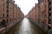 Hamburger Speicherstadt — Stock Photo