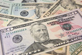 Dollar Banknotes — Stock Photo