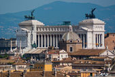 Il Monumento Vittorio Emanuele II — Stock Photo