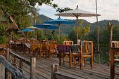 Outdoor Restaurant — Stock Photo