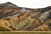 The colorful mountains of Landmannalaugar — Stock Photo