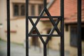 Sinagogun kapısını — Stok fotoğraf