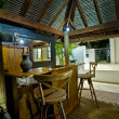 Bali Hut with bar — Stock Photo
