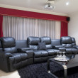 Home Theatre Room — Stock Photo