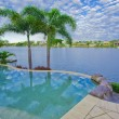 Infinity Pool with Views over canal — Stock Photo #5786312