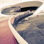 Niterói Contemporary Art Museum Rio De Janeiro Brazil — Stock Photo #5787229
