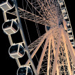 Royalty-Free Stock Photo: Ferris Wheel glowing at night