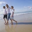 family at the beach — Stock Photo #5788533