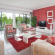 Stock Photo: Modern living room