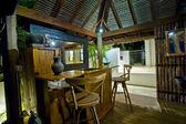 Bali Hut with bar — Stock Photo