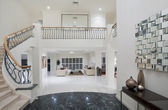 Luxus herrenhaus flur — Stockfoto