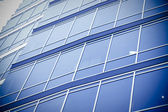 Modern corporate glass building — Foto Stock