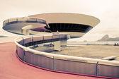 Niterói Contemporary Art Museum Rio De Janeiro Brazil — Stockfoto