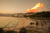 Ipanema Beach Rio De Janeiro Brazil — Stock Photo