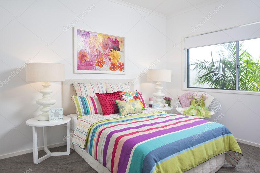 어린이 침실 현대 저택 — 스톡 사진 #5789678
