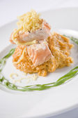 Tandoori Style Salmon — Stock Photo
