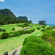 Golf Course by the Sea — Stock Photo #5833538
