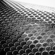 Royalty-Free Stock Photo: Silver Metal Mesh