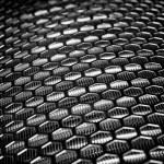 Silver Metal Mesh — Stock Photo