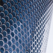 Blue Metal Mesh — Stock Photo #5835007