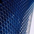 Blue Metal Mesh — Stock Photo #5835011