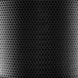 Silver Metal Mesh - Stock Photo