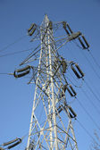 Jeden biegun elektryczny — Zdjęcie stockowe