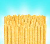 Row of fries — Stock Photo