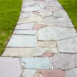 Royalty-Free Stock Photo: Stone Color Walkway