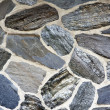 Dark Stone Wall Texture and Background - Stock Photo