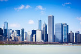Chicago in summer — Stock Photo