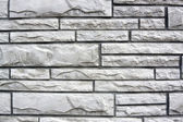 White BrickWall Texture and Background — Stock Photo