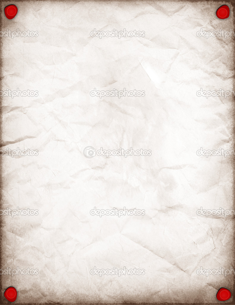 Vintage White Paper Background With Wax Seals — Stock Photo © maxym ...