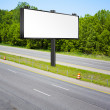 Billboard on american toll way — Stock Photo #6055941