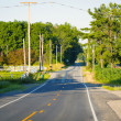 Stock Photo: AmericRoad with SunLight