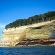 Cliff in Michigan — Stock Photo #6250473