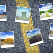 Foto Stock: Travel Background
